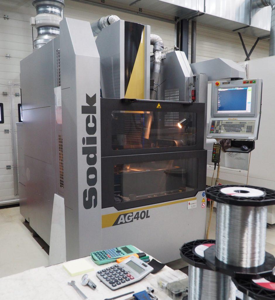 SODICK AG40L zinkvonkmachine Nefratech EDM-Center
