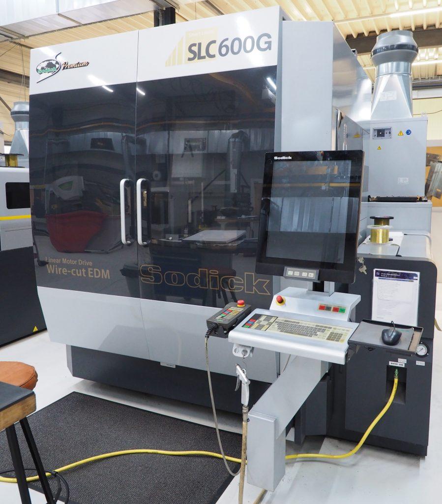 SODICK ALC600G EDM-vonkverspanen Nefratech EDM-Center