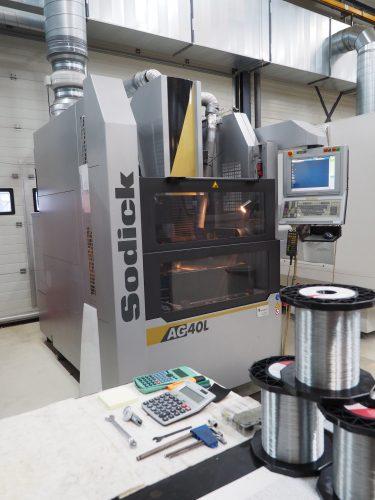 SODIC AG40L Zinkvonk machine Nefratech EDM Center Weert
